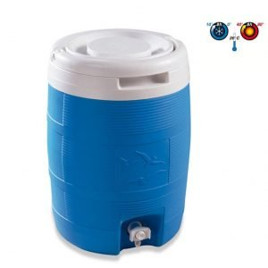 Dispenser Borraccia Bottiglia Contenitore termico per acqua campeggio sport tempo libero mare vacanza MADE IN ITALY - PLASTIME