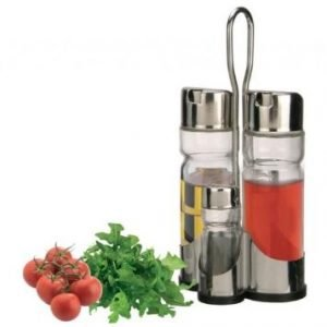 Oliera Inox 18/8 Set 4 Pezzi - EVAcollection