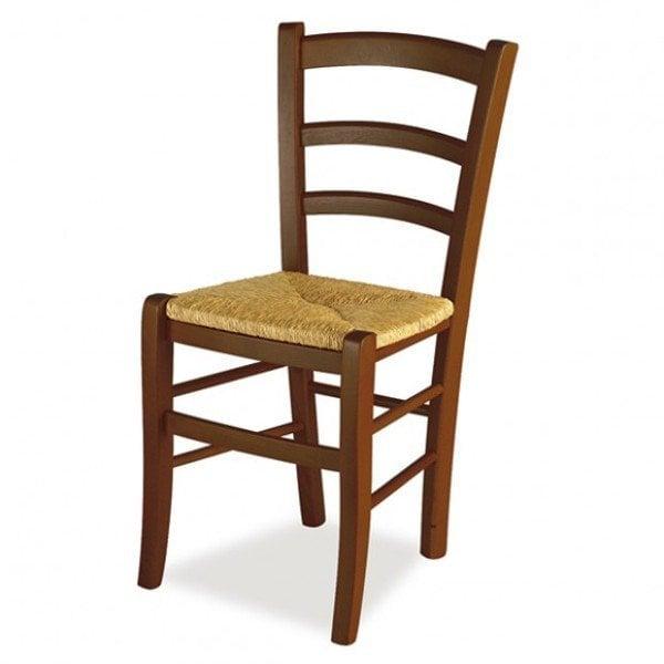 Sedie Da Cucina Impagliate.Sedia Da Cucina In Legno E Seduta In Paglia Modello Paesana Venezia Impagliata Tomaino Tomaino It