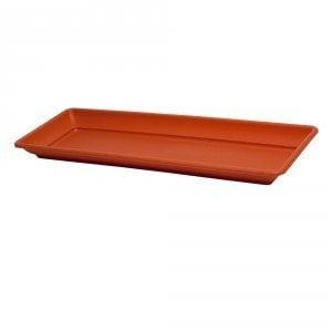 Sottovaso rettangolare plastica varie misure -TOMAINO