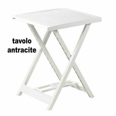 Tavolo da campeggio e giardino in plastica Pieghevole Arno - IPAE-PROGARDEN