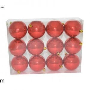Palle di natale rosso Set 12 pz - TOMAINO