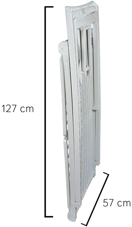 Stendibiancheria in plastica pieghevole, 19mt